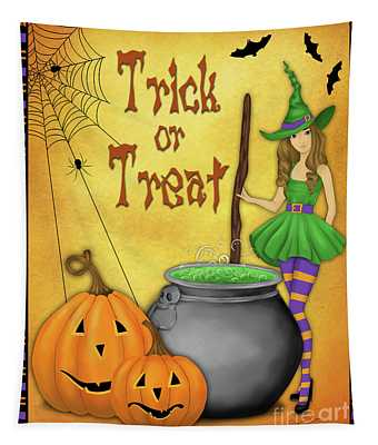 Trick Or Treat-2 Tapestry
