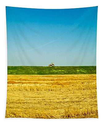Tricolor With Tractor Tapestry
