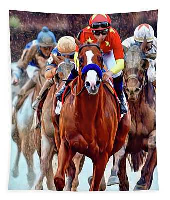 Triple Crown Winner Justify Tapestry