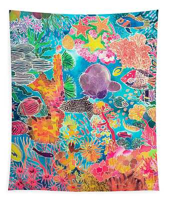 Tropical Coral Tapestry