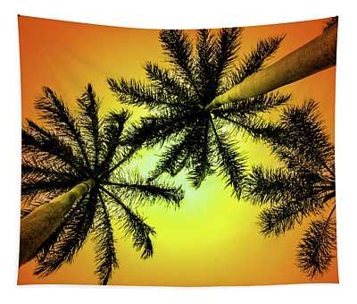 Tropical Vibrance Tapestry