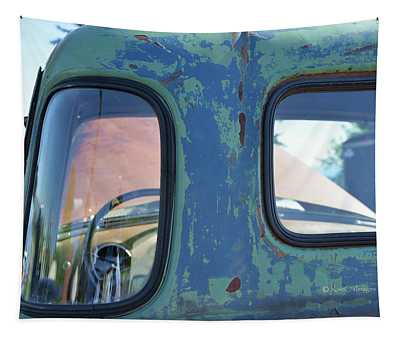 Truck Windows And Rust Tapestry
