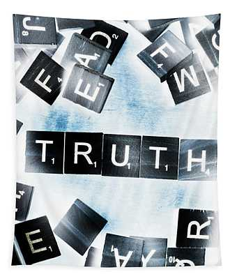 Truth Inverted Tapestry