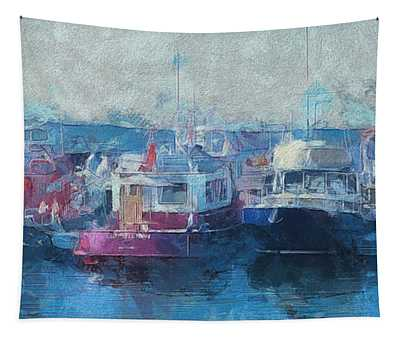 Tugs Together  Tapestry