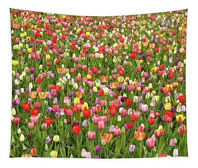 Tulip Field Tapestry