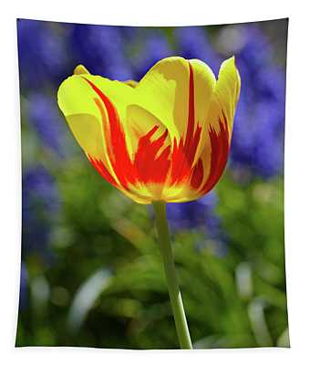 Tulip Flame Tapestry