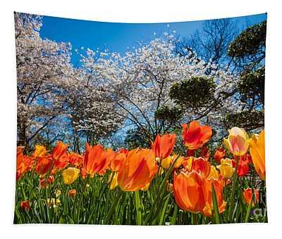 Tulip Panorama Tapestry