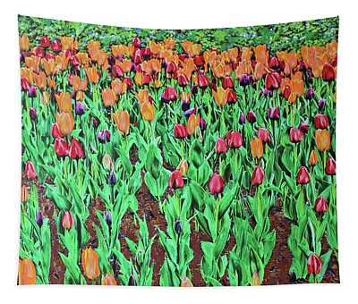 Tulips Tulips Everywhere Tapestry