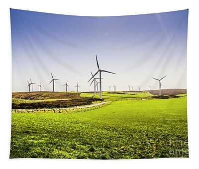 Turbine Fields Tapestry