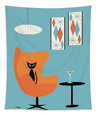 Turquoise Room Tapestry