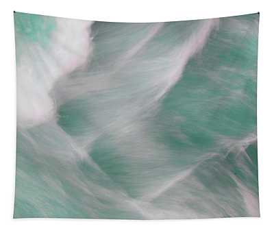 Turquoise Water Patterns Tapestry