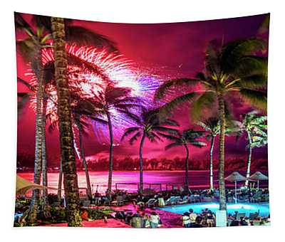 Turtle Bay - Independence Day Tapestry