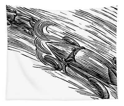 Twenties Grand Prix Tapestry