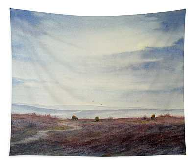 Twilight Settles On The Moors Tapestry