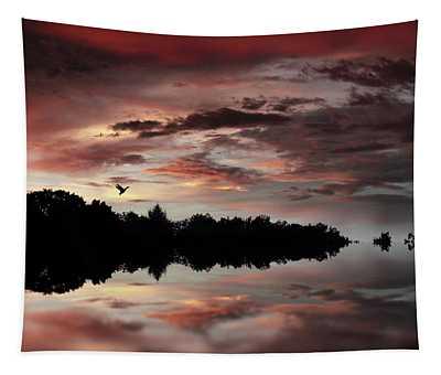 Twilight Flight Tapestry