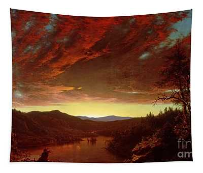 Twilight In The Wilderness Tapestry