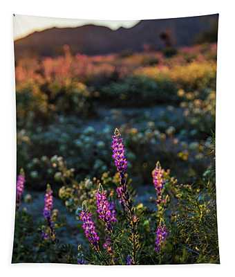 Twilight Lupine Tapestry