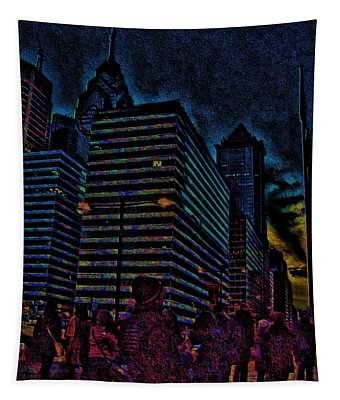 Twilight Of Uncertainty Tapestry