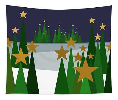 Twinkling Forest Tapestry