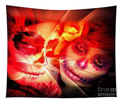 Twins Tapestry