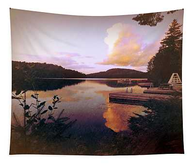 Twitchell At Sunset Tapestry