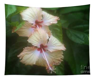 Two Flowers Tapestry