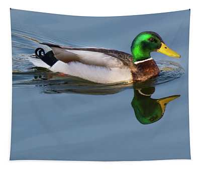 Two Headed Duck Tapestry
