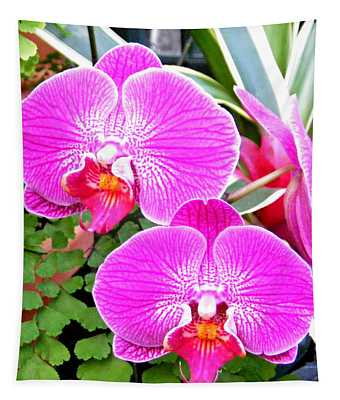 Two Orchids Tapestry