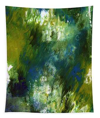 Under The Canopy- Abstract Art By Linda Woods Tapestry