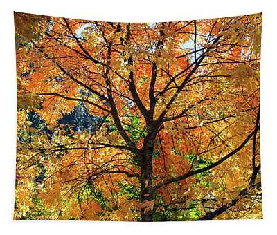 Under The Golden Tree Tapestry