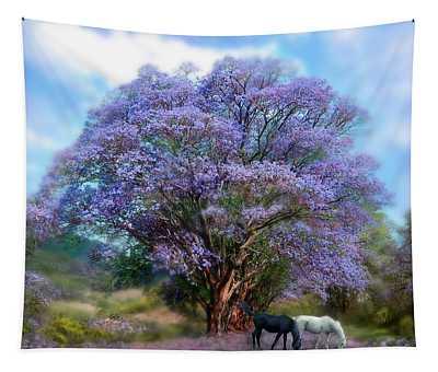 Under The Jacaranda Tapestry
