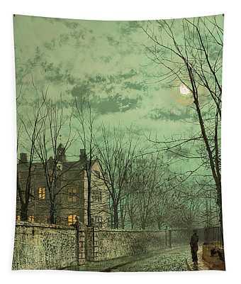 Under The Moonbeams Tapestry