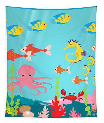Under The Sea-jp2987 Tapestry