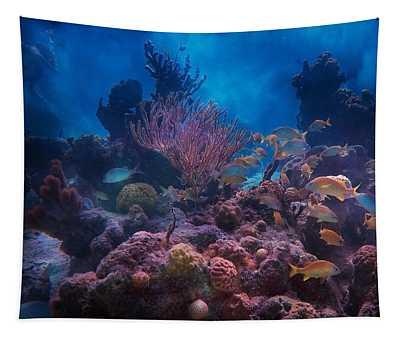 Underwater Paradise Tapestry