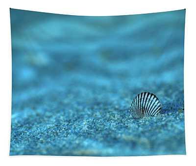Underwater Seashell - Jersey Shore Tapestry