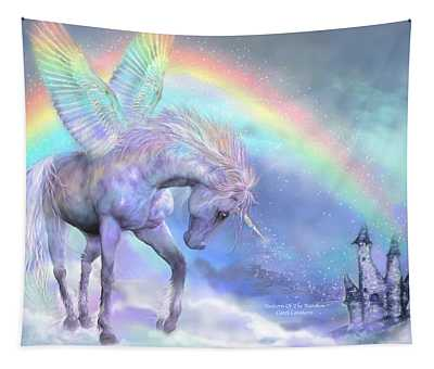 Unicorn Of The Rainbow Tapestry