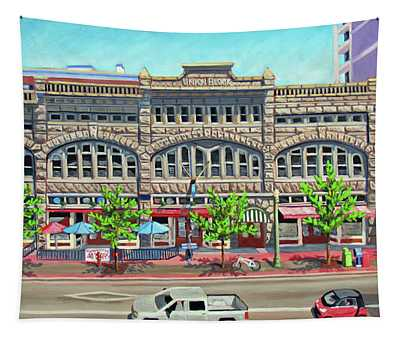 Union Block Building - Boise Tapestry