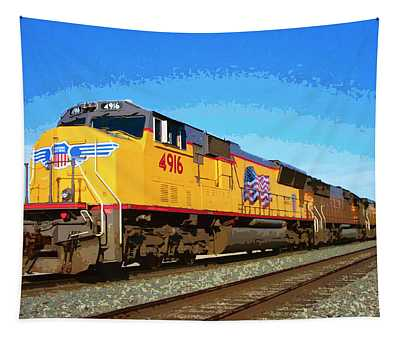Union Pacific Tapestry