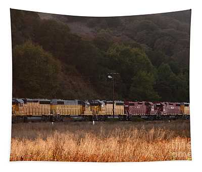 Union Pacific Locomotive Trains . 7d10551 Tapestry