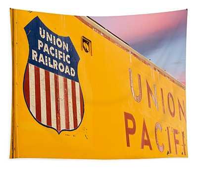 Union Pacific Railroad Tapestry