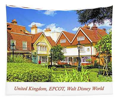 United Kingdom Buildings, Epcot, Walt Disney World Tapestry