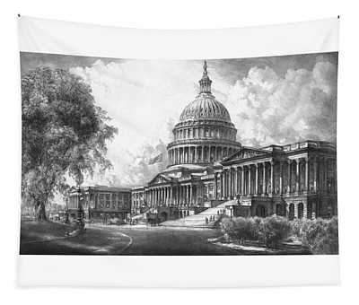 United States Capitol Building Tapestry