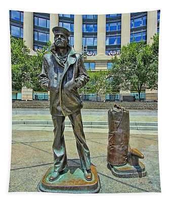 United States Navy Memorial - The Lone Sailor Tapestry