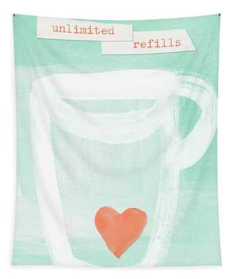 Unlimited Refills- Art By Linda Woods Tapestry