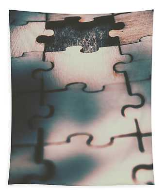 Unsolved Puzzle Tapestry