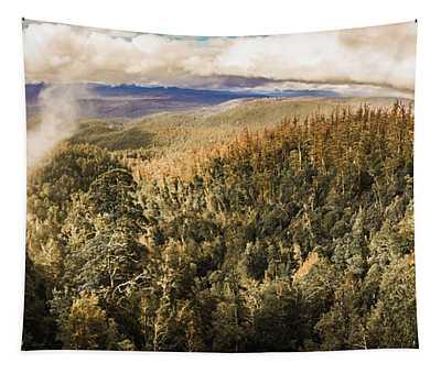 Untouched Wild Wilderness Tapestry