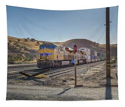 Tapestry featuring the photograph Up7472 by Jim Thompson