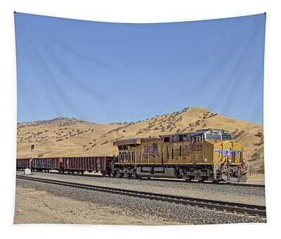 Tapestry featuring the photograph Up8053 by Jim Thompson