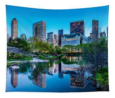 Urban Oasis Tapestry