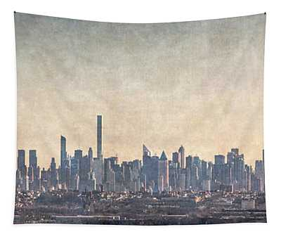 Urban Panorama Tapestry